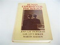 Human experimental psychology
