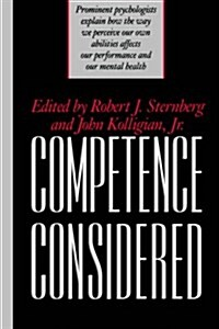 Competence Considered (Hardcover)