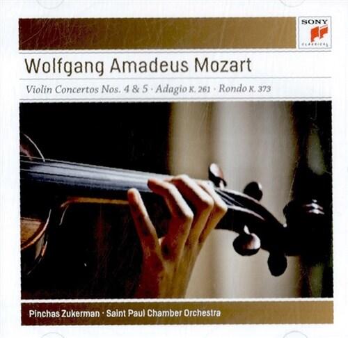 [수입] 모차르트 : 바이올린 협주곡 4 & 5번