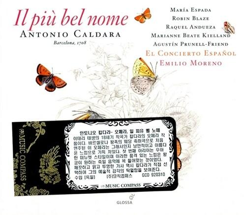 [수입] 칼다라 : 오페라 일 피유 벨 노메 [2CD]