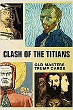 Clash of the Titians : Old Masters Trump Game (Cards)