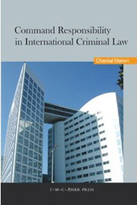 Command responsibility in international criminal law