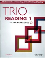 Trio Reading: Level 1: Student Book with Online Practice (Package)