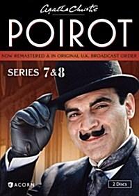 [수입] Agatha Christies Poirot, Series 7 & 8 (아가사 크리스티 : 명탐정 포와로 시리즈 7.8)(지역코드1)(한글무자막)(DVD)