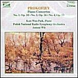 [수입] 프로코피에프 : 피아노 협주곡 1, 3 & 4번