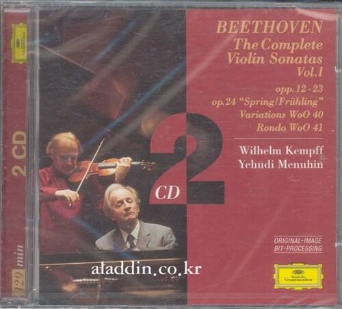[수입] 베토벤 : 바이올린 소나타 1집