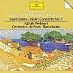 [수입] 생상 : 바이올린 협주곡 3번 & 랄로 : 스페인 교향곡