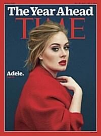Time (USA) (주간 미국판) 2015년 12월 28일 & 2016년 1월 4일