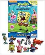 My Busy Books : Spongebob (미니피규어 12개 포함) (Board book)