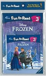 Disney Fun to Read 3 : Frozen (겨울왕국) (Paperback + Workbook + Audio CD)