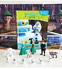 My Busy Book : Frozen Fever / Olaf (미니피규어 12개 포함) (Hardcover)