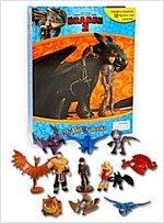 My Busy Book : How to Train Your Dragon 2 (미니피규어 12개 포함) (Hardcover)