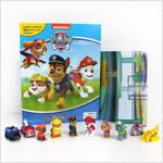 My Busy Book : Paw Patrol 퍼피구조대 비지북 피규어책 (미니피규어 10개 + 놀이판)