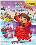 My Busy Books : Dora the Explorer (Merry Christmas) (미니피규어 12개 포함)