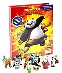 My Busy Book : Dreamworks Kung Fu Panda (쿵푸 팬더 피규어 책, 미니피규어 12개 포함) (Hardcover)