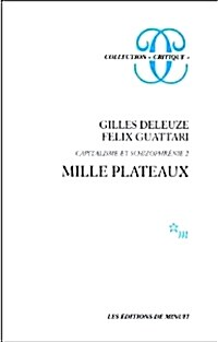 Mille Plateaux (French, Hardcover)
