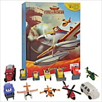 My Busy Books : Disney Planes Fire & Rescue (미니피규어 12개 포함)