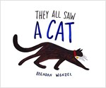 They All Saw a Cat (Cat Books for Kids, Beginning Reading Books, Preschool Prep Books) (Hardcover)