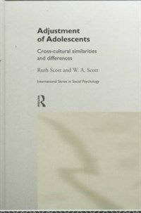 Adjustment of adolescents : cross-cultural similarities and differences