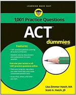 ACT: 1,001 Practice Questions for Dummies (Paperback)