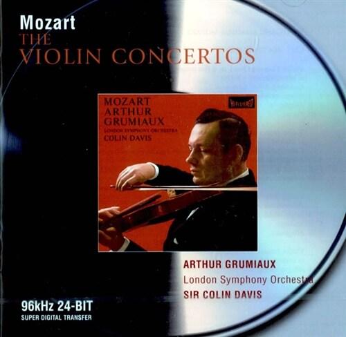[수입] 모차르트 : 바이올린 협주곡과 소나타