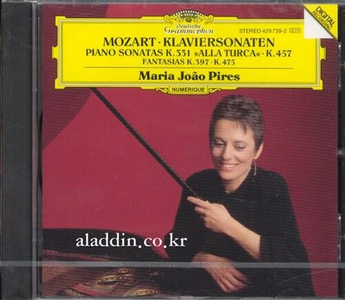 [수입] 모차르트 : 피아노 소나타 KV 331,457 & 환상곡
