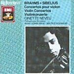 [수입] 브람스 & 시벨리우스 : 바이올린 협주곡