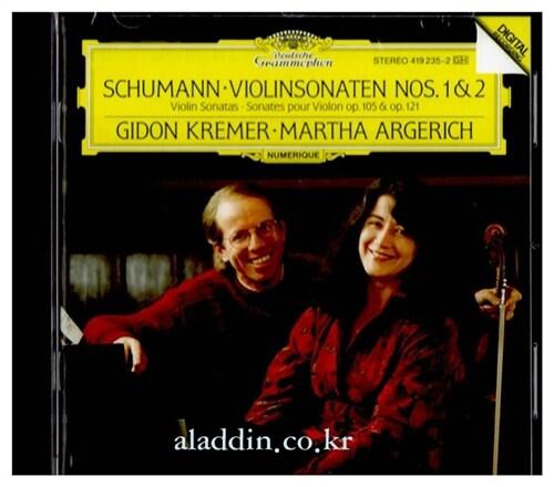 [수입] 슈만 : 바이올린 소나타 1 & 2번