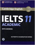 Cambridge IELTS 11 : Academic Student's Book with Answers (Paperback + Audio)
