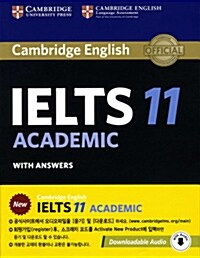 Cambridge IELTS 11 Academic Students Book with Answers with Audio : Authentic Examination Papers (Package)