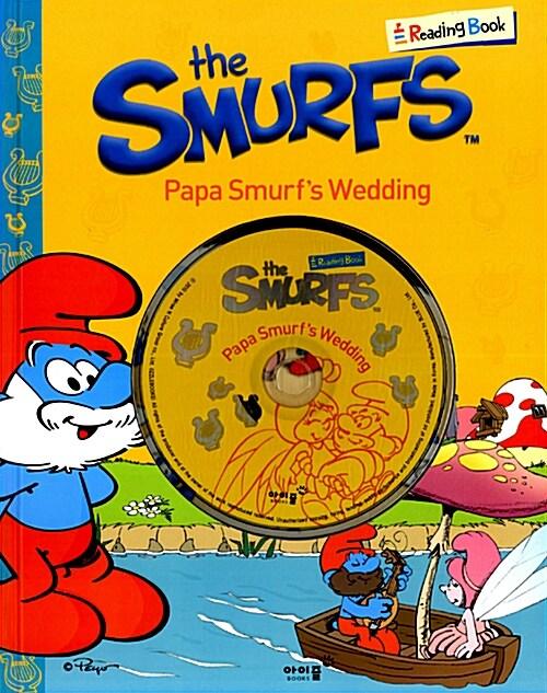 Papa Smurfs Wedding (책 + CD 1장)