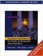 Applied Statistics for Public and Nonprofit Administration (7th Edition, Paperback)
