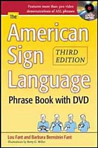 The American Sign Language Phrase Book [With DVD] (Paperback)