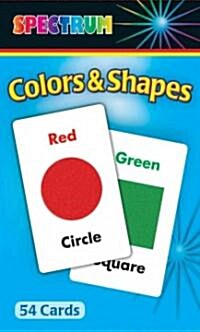 Colors & Shapes Flash Cards (Other)