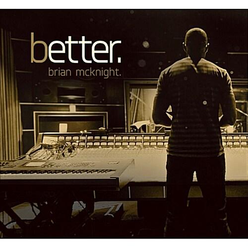 [수입] Brian McKnight - Better