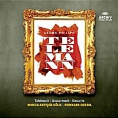 [수입] 텔레만 : 타펠무지크, 수상음악, 협주곡 [슬립 케이스 10CD]