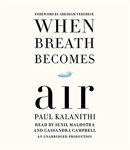[중고] When Breath Becomes Air (Audio CD, Unabridged)