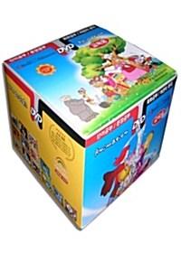 세계 명작동화 어린이 영어교육용 애니메이션 12종 박스 세트 (12disc)
