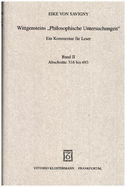 Wittgensteins Philosophische Untersuchungen (Hardcover)