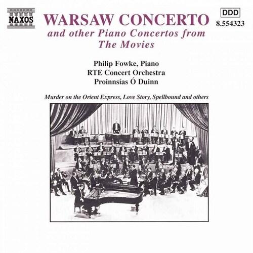[수입] Piano Concertos From The Movies (에딘셀 : 바르샤바 협주곡 외)