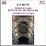 [수입] J.S. Bach : Preludes & Fugues Bwv 536,541,542,544 & 546