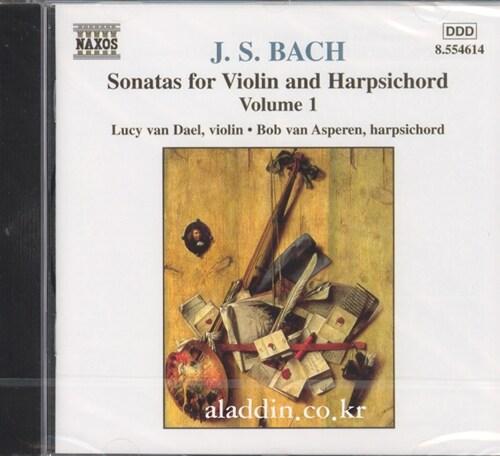 [수입] 바흐 : 바이올린과 하프시코드를 위한 소나타 1집