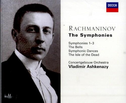 [수입] 라흐마니노프 : 교향곡 1-3번, 관현악 작품집