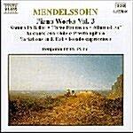 [수입] Mendelssohn : Piano Works Vol. 3