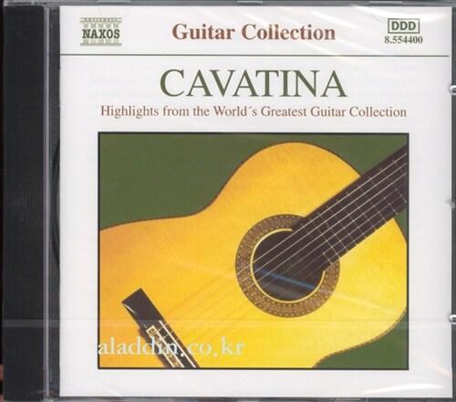 [수입] 카바티나 - 유명 기타 음악 하이라이트 콜렉션