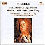 [수입] Purcell : Music On The Death Of Queen Mary