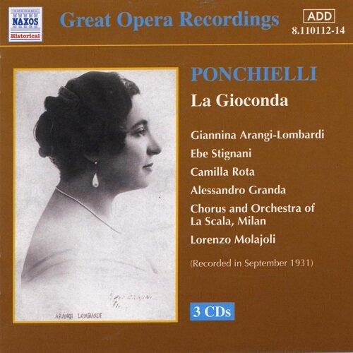 [수입] 폰키엘리 : 라 지오콘다 [3CD]