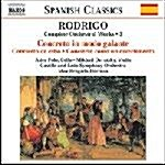 [수입] Rodrigo : Complete Orchestral Works, Vol.3