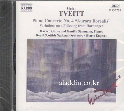 [수입] 트베이트 : 피아노 협주곡 4번 오로라 보리얼리스