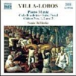 [수입] Villa-Lobos : Piano Music, Vol. 3